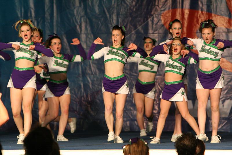 Galaxy Cheer - Tacoma - Spirit Cheer 1/20/2008